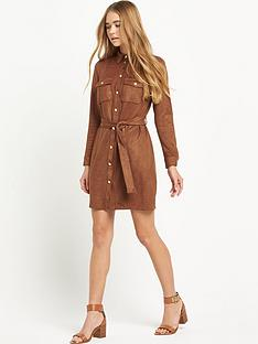 river-island-suede-shirt-dress-with-tie-waist