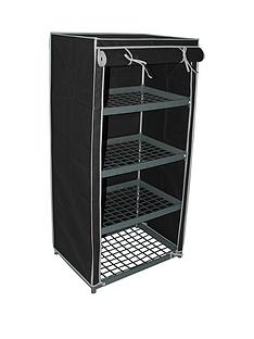 4-shelf-canvas-storage-unit-black