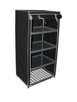 4-shelf-canvas-storage-unit-black