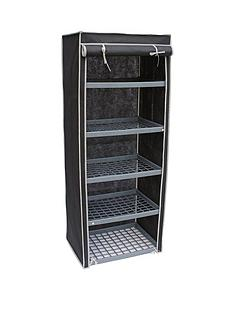5-shelf-canvas-storage-unit-black