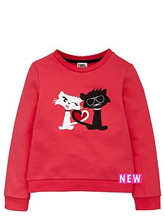 karl-lagerfeld-girls-choupette-in-love-sweat-top
