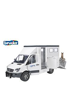 bruder-mb-sprinter-animal-transporter-with-horse