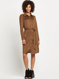 wallis-suede-shirt-dress