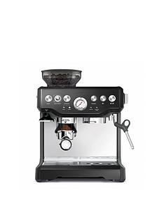 Sage by Heston Blumenthal BES870BSUK Baristas Express Coffee Machine - Black