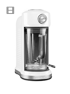 KitchenAid 5KSB507WH Classic Magnetic Drive Blender - White