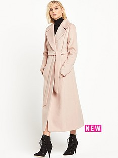 miss-selfridge-beltednbspmaxi-coat