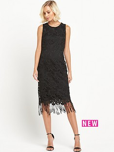 miss-selfridge-fringe-lace-dress