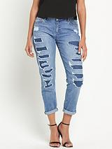 Esther Rip And Repair Boyfriend Jeans