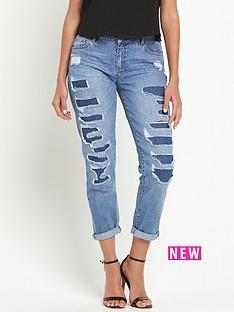 miss-selfridge-esther-rip-and-repair-boyfriend-jeans