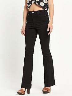 miss-selfridge-flared-jeansnbsp