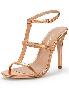 glamorous-caged-heeled-sandalnbsp