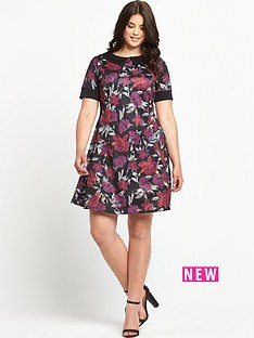 so-fabulous-print-collar-scuba-tea-dress
