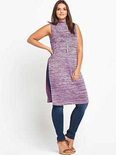 so-fabulous-sleeveless-turtle-neck-split-side-maxi-tunic-top