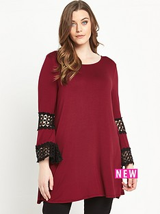 so-fabulous-crochet-trim-sleeve-swing-tunic-top