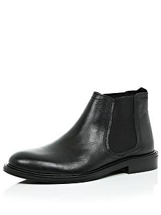 river-island-river-island-chunky-leather-chelsea-boots