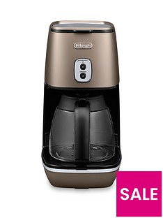 DeLonghi ICM1211.BZ Distinta Filter Coffee Maker - Bronze