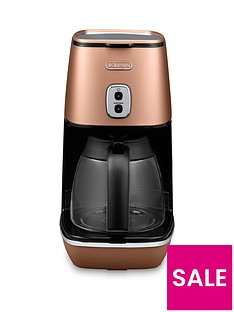 DeLonghi ICM1211.CP Distinta Filter Coffee Maker - Copper
