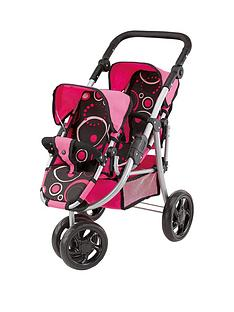 bayer-bayer-doll039s-pram-twin-jogger