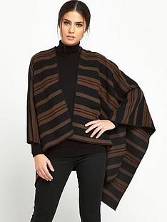 lee-striped-poncho