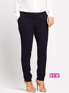 coleen-coleen-pu-trim-trouser