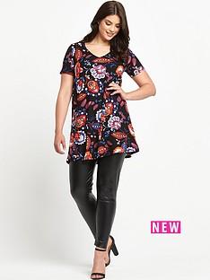 so-fabulous-v-neck-print-tunic-top
