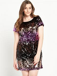 so-fabulous-sequin-front-tunic-dress