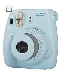 fuji-instax-mini-8-blue-instant-camera-including-10-shots