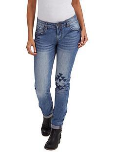 joe-browns-aztec-patch-jeans