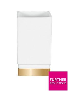 spirella-roma-white-gold-tumbler
