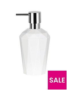 spirella-crystal-white-soap-dispenser