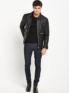 river-island-leather-harrington-jacket