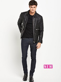 river-island-river-island-leather-harrington-jacket
