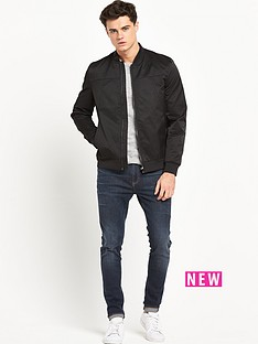 river-island-river-island-greyhound-satin-panel-bomber-jacket