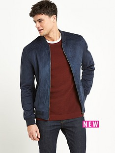 river-island-river-island-suede-bonded-bomber