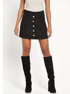 river-island-button-through-skirt