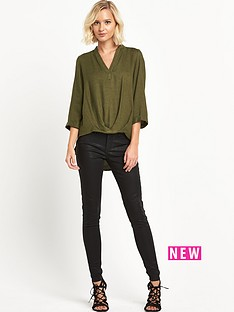 river-island-long-sleeve-casual-wrap-blouse