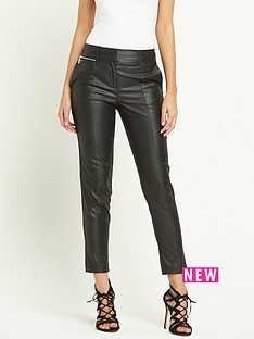 river-island-slim-coated-trouser