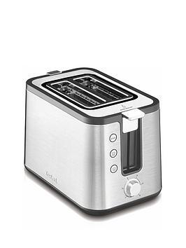 Tefal Tt442D40 Prelude Toaster - Stainless Steel