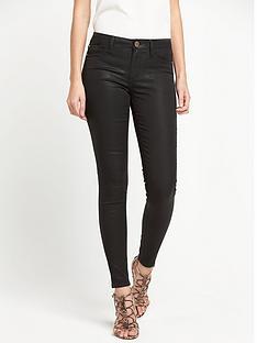 river-island-wet-look-skinny-jeans