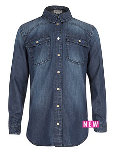 river-island-girls-malone-denim-shirt