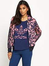 Baroque Ornament Printed Jacket