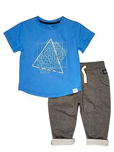 river-island-mini-mini-boys-short-sleeve-t-shirt-and-joggers-set-2-piece