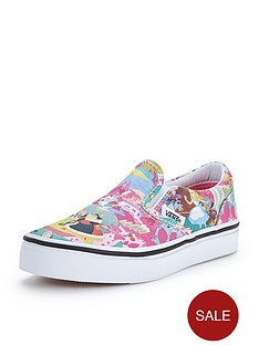 vans-vans-disney-wonderland-classic-slip-on-jnr