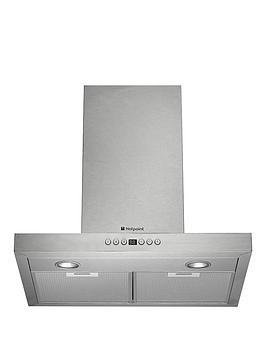 hotpoint-ultima-hhb67adi-60cm-box-hood-stainless-steel