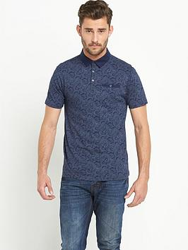 Goodsouls Paisley Mens Polo Shirt