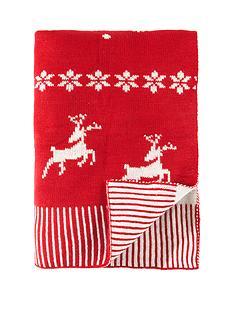 luxury-xmas-knitted-throw
