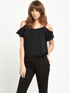 v-by-very-lace-panel-back-top