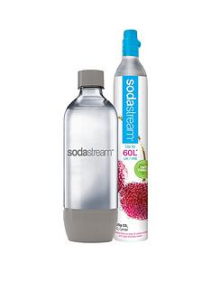 Sodastream Gas Cylinder with FREE Grey Water Bottle