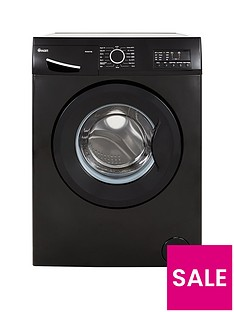 Swan SW2070B 7kg Load, 1400 Spin Washing Machine - Black