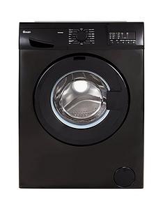 Swan SW2080B 8kgLoad, 1400 Spin Washing Machine - Black